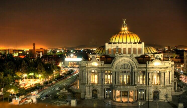 Temperatura na Cidade do México
