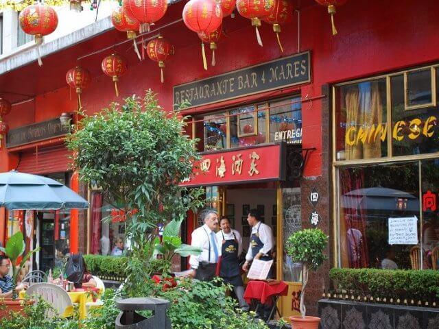 Barrio Chino Chinatown na Cidade do México
