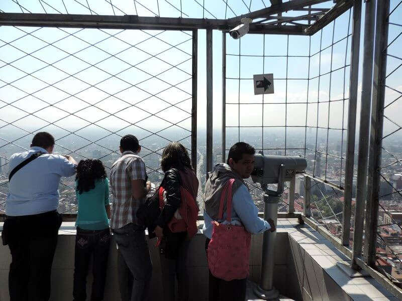 Vista da Torre Latinoamericana na Cidade do México