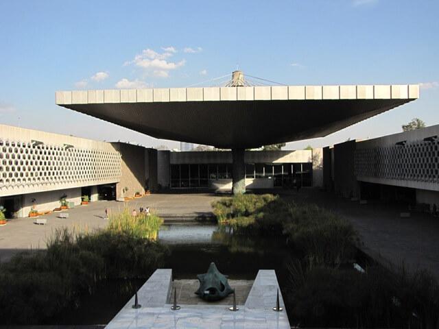 Museu Nacional de Antropologia na Cidade do México