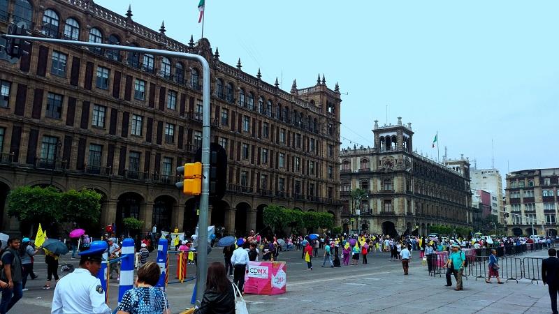 Informações sobre a Praça Zócalo na Cidade do México