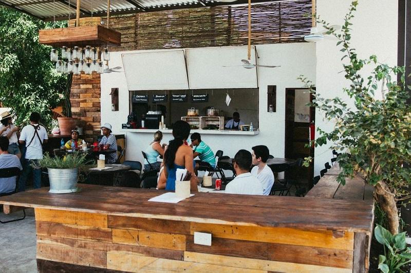 Restaurante Burrito Amor em Tulum