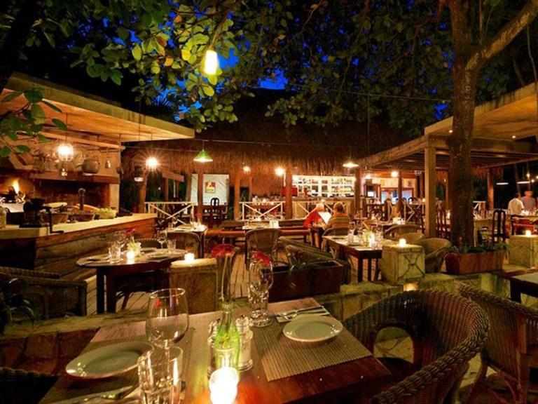 Restaurante Casa Banana para curtir na noite em Tulum