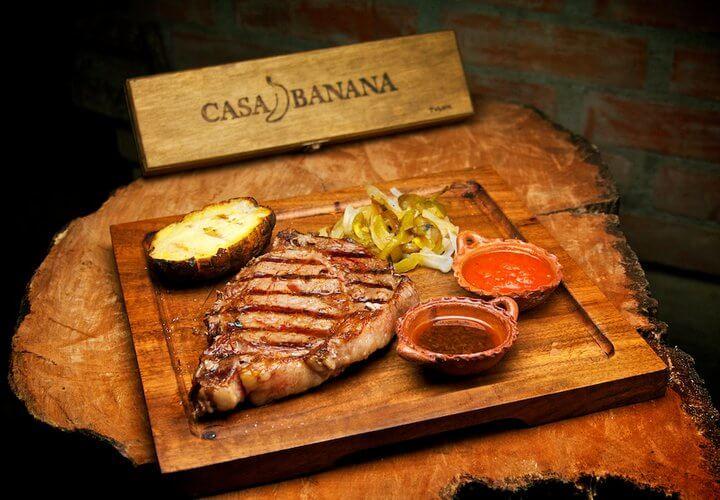 Restaurante sofisticado Casa Banana em Tulum