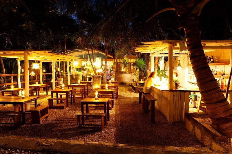 Restaurante Hartwood em Tulum
