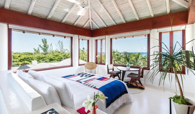 Quarto de hotel luxuoso em Tulum