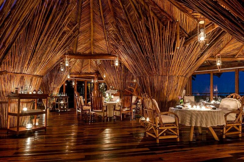 Jantar romântico em Tulum