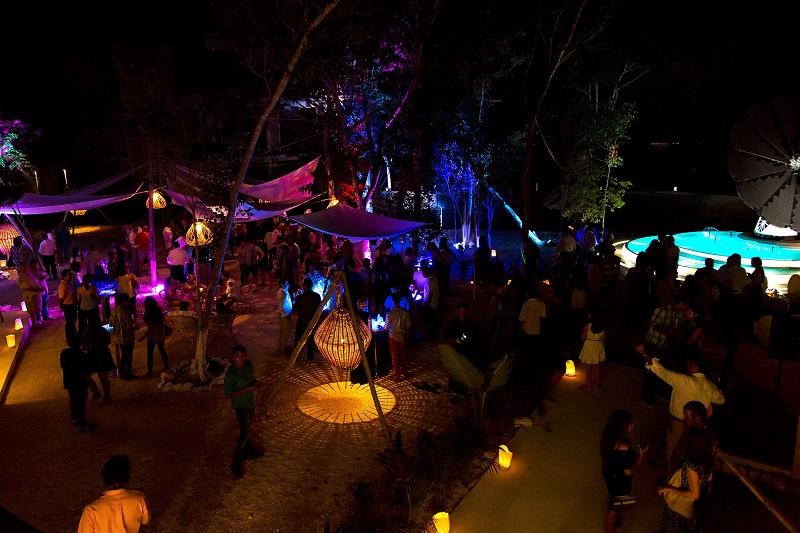 O que fazer a noite em Tulum no México