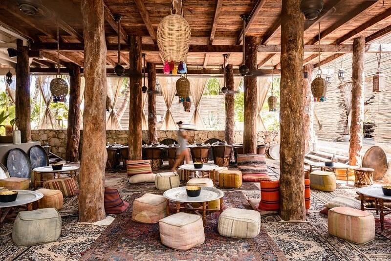 Bons restaurantes em Tulum no México