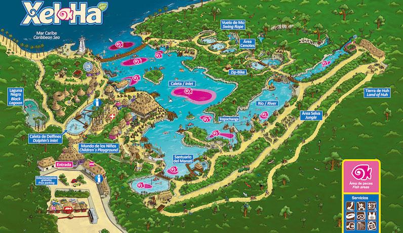 Parque Xel-Há em um roteiro de viagem em Tulum