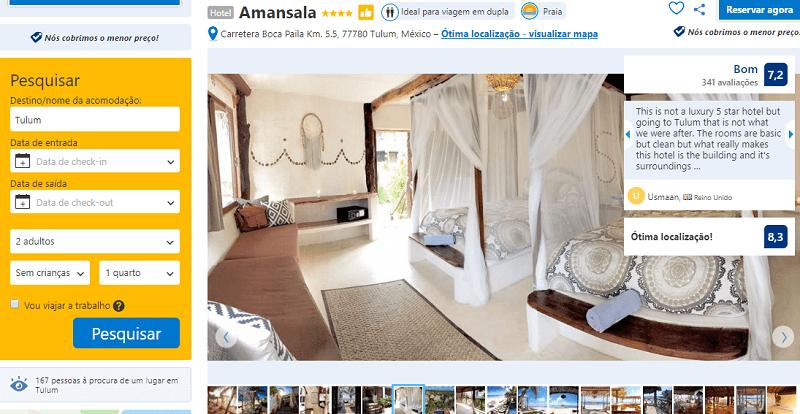 Estadias no Hotel Amansala em Tulum