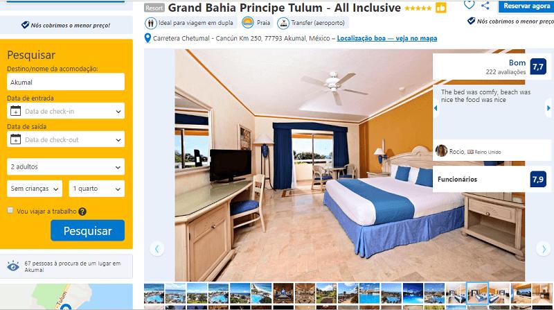 Estadia no Hotel Grand Bahia Principe Tulum - All Inclusive