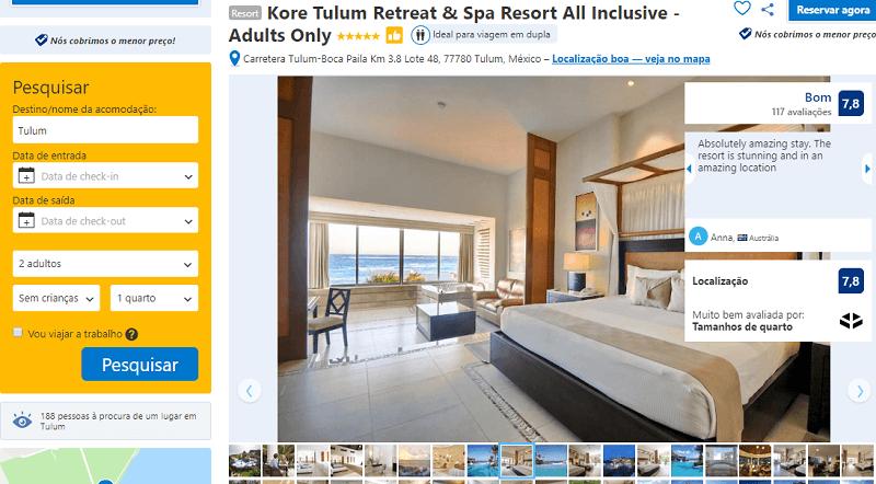 Estadia no Kore Tulum Retreat & Spa Resort All Inclusive - Adults Only