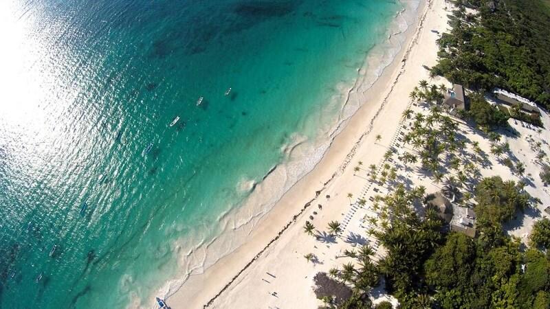 Praias mais bonitas no México: Playa Paraiso em Tulum
