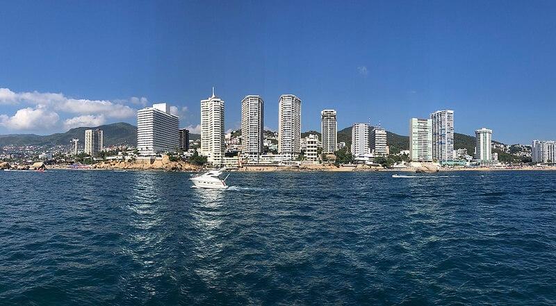 Melhores regiões para ficar em Acapulco: Zona Dorada