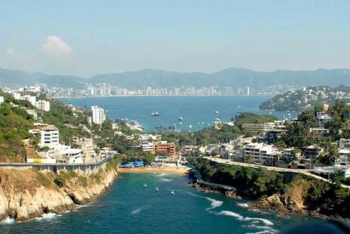 Melhores regiões para ficar em Acapulco: Zona Tradicional