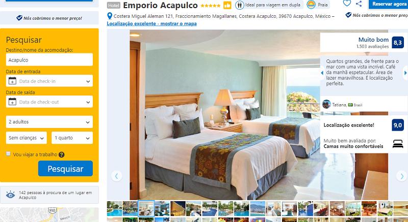 Hotel Emporio Acapulco em Acapulco no México