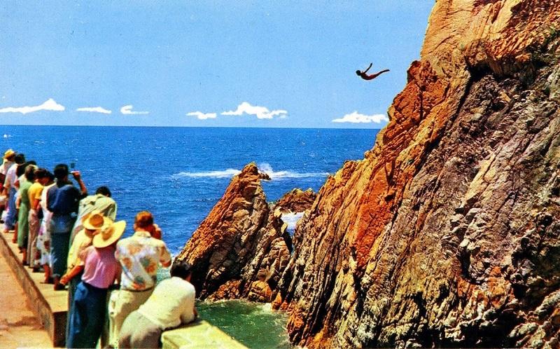 La Quebrada em Acapulco