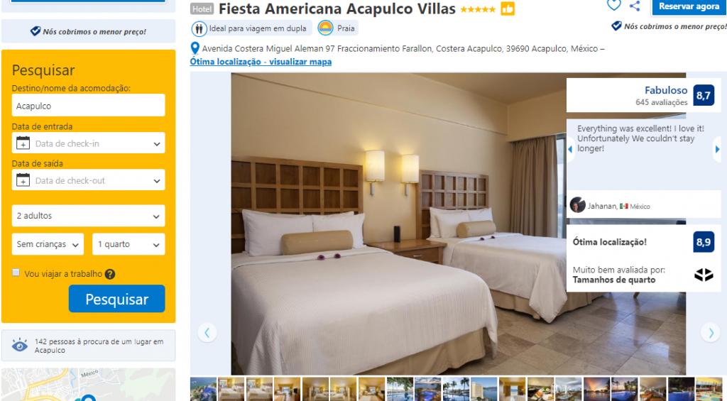 Hotel Fiesta Americana Acapulco Villas em Acapulco