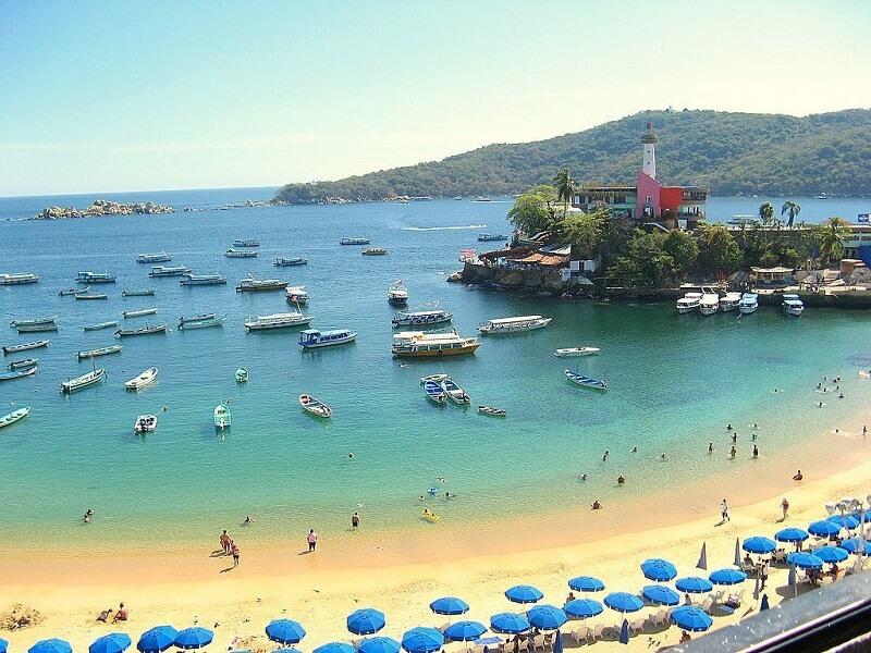 Roteiro de 3 dias em Acapulco: Praia Caletilla