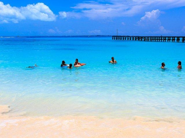 Playa Langosta em Cancún
