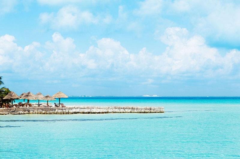 Praias mais bonitas no México: Playa Norte em Isla Mujeres