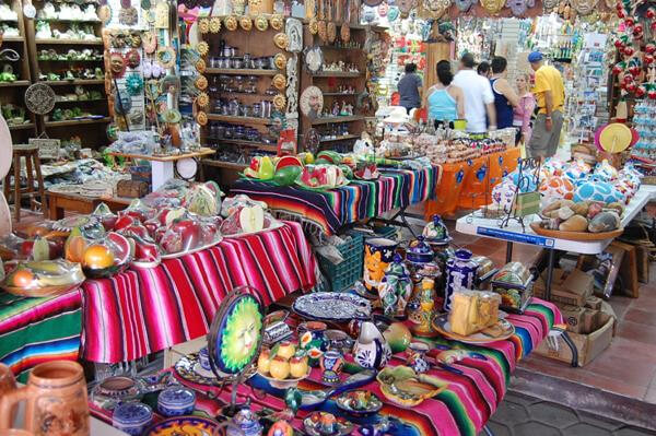 Compras no mês de fevereiro em Cancún