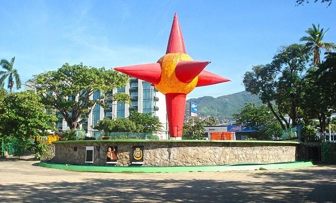 Brinquedos no Parque Papagayo em Acapulco