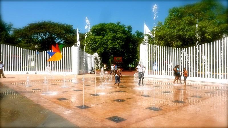 Lazer e entretenimento no Parque Papagayo em Acapulco