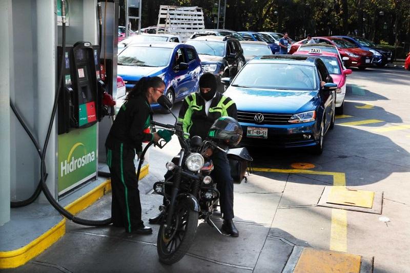 Posto de gasolina - México