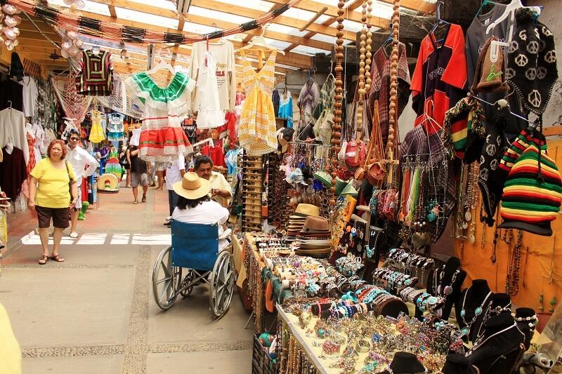 Compras no mês de março em Cancún