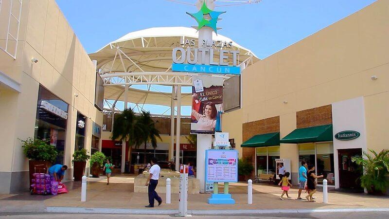 Compras no mês de janeiro em Cancún
