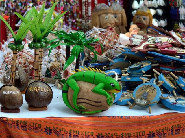 Onde comprar lembrancinhas e souvenirs em Acapulco