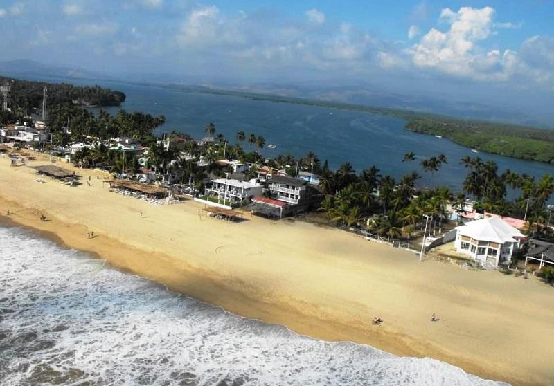 Visita à praia Barra de Coyuca em Acapulco