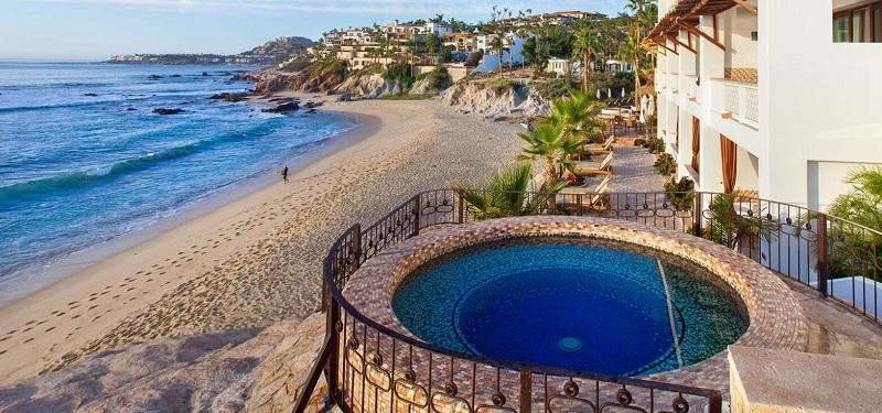 Fachada do Cabo Surf Hotel em Los Cabos em San José del Cabo