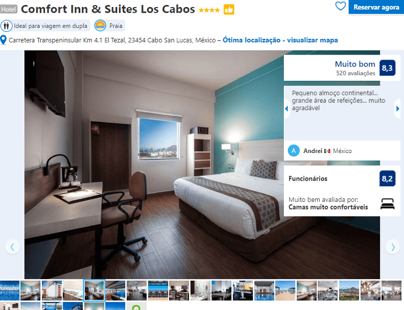 Quarto do Hotel Comfort Inn & Suites Los Cabos em Cabo San Lucas