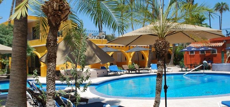 Fachada do Hotel Mar de Cortez em Los Cabos em Cabo San Lucas