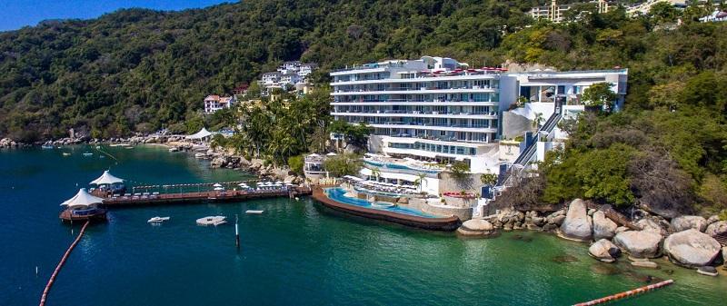 Hospedagem na praia Pichilingue em Acapulco