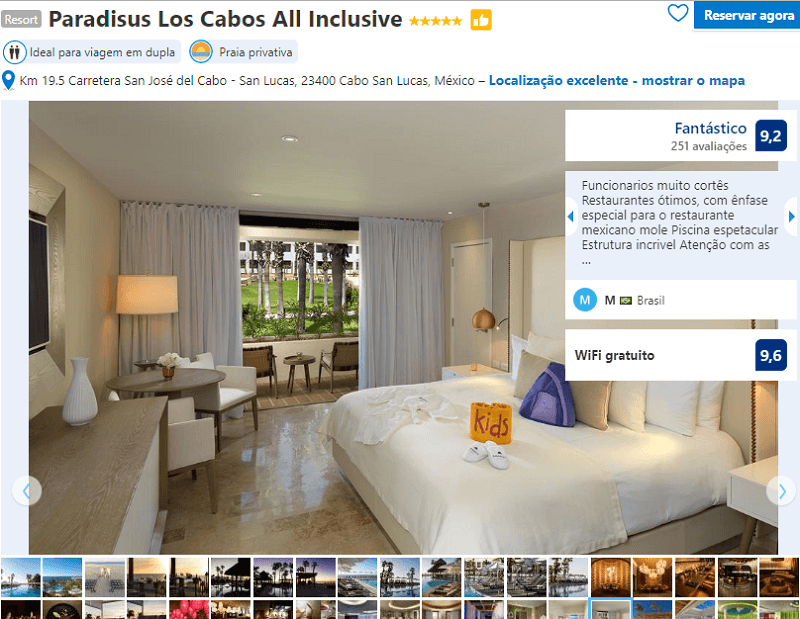 Fachada do Quarto do Hotel Paradisus Los Cabos All Inclusive em Los Cabos em Cabo San Lucas