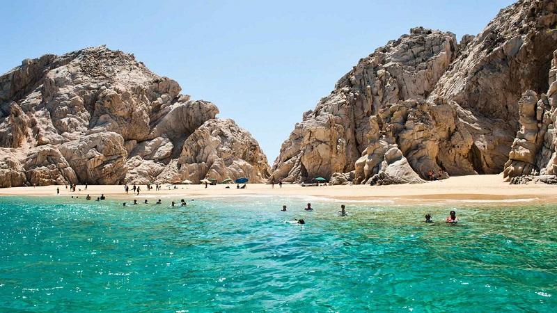 Playa Santa Maria em Los Cabos