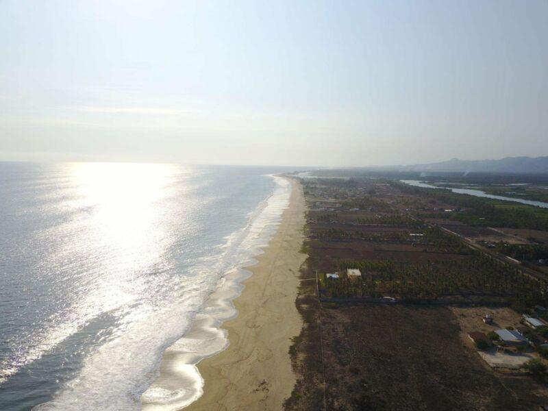 Praia Barra de Coyuca em Acapulco