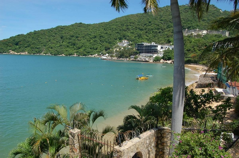 Visita à praia Pichilingue em Acapulco