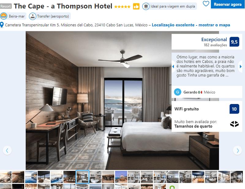Quarto do The Cape - a Thompson Hotel em Los Cabos em Cabo San Lucas