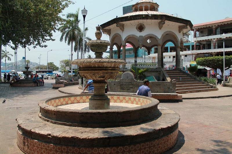 Zócalo em Acapulco