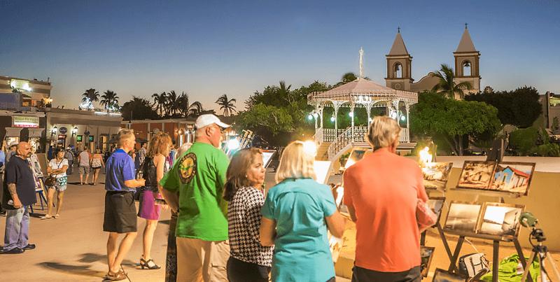 Art Walk em um roteiro de viagem em Los Cabos
