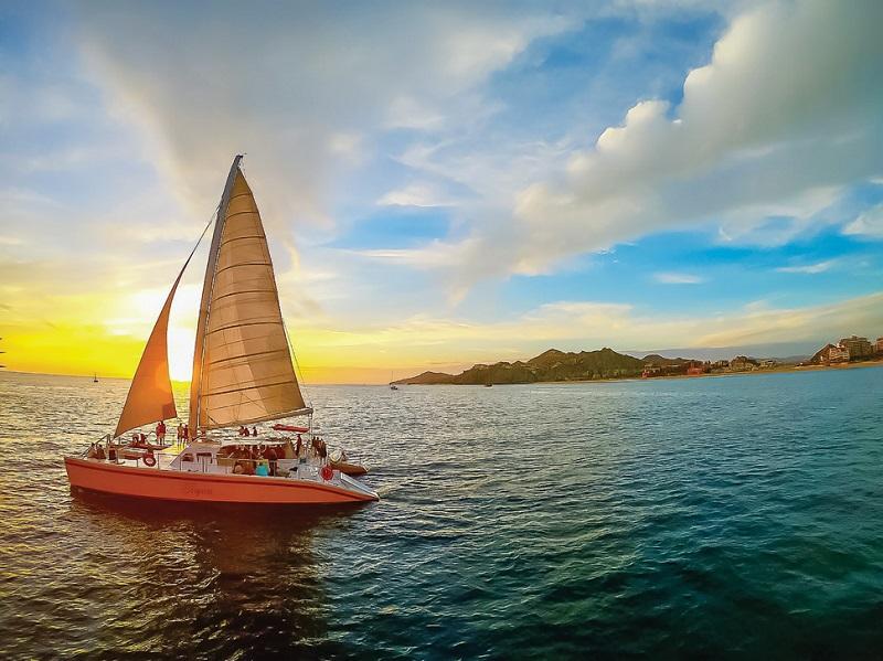 Barco em Los Cabos no México