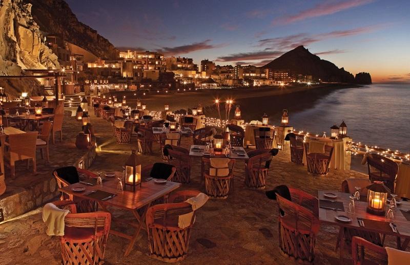Restaurante El Farallon em Los Cabos