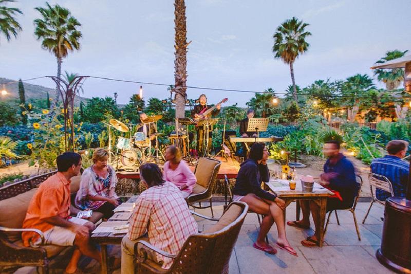 Restaurante Flora's Field Kitchen em Los Cabos