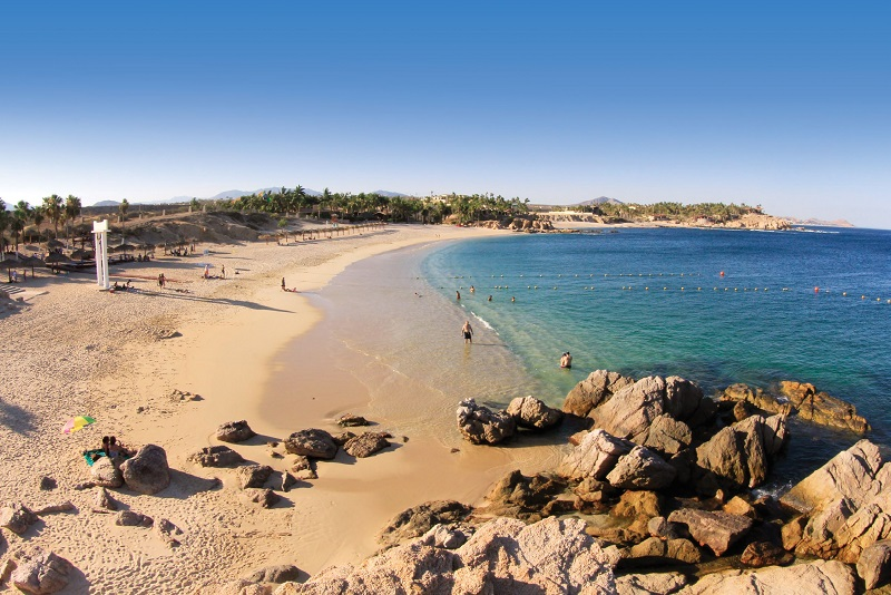 Playa Palmilla em um roteiro de viagem em Los Cabos