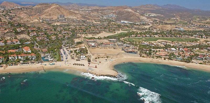 Área total da Playa Palmilla em Los Cabos
